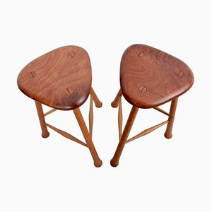 Studio Barstools by Robert Kopf, USA, 1980s, Set of 2
