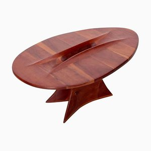 American Studio Free Form Coffee Table, 1970s