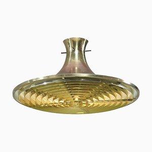 Brass Ceiling Lamp by Hans-Agne Jakobsson, 1960s