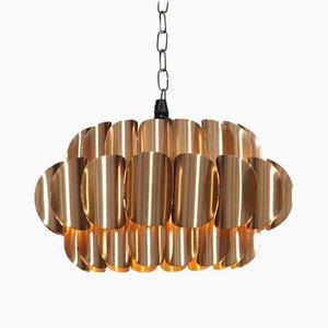 Brass Pendant Lamp by Hans-Agne Jakobsson, 1960s