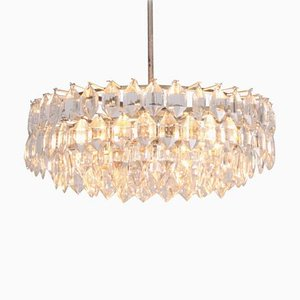 Crystal Glass Chandelier from Bakalowits & Söhne, 1960s