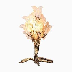 Brass Tree Table Lamp by Henri Fernandez, 1970s