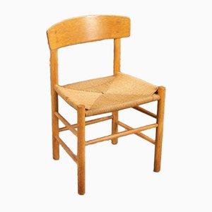 Stühle von Borge Mogensen, 4er Set