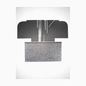 Original Lithographie von Jean Baier, 1960er