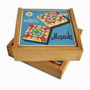 Puzzle aus Holz von SFF, 1960er