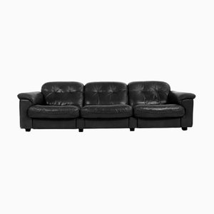 DS 101 Leather Sofa from de Sede, 1960s