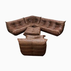 Togo Modular Sofa by Michel Ducaroy for Ligne Roset, 1960s, Set of 5
