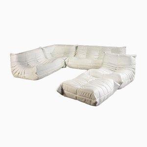 Togo Modulares Sofa von Michel Ducaroy für Ligne Roset, 5er Set