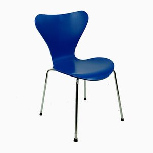 Model 3107 Dining Chair by Arne Jacobsen for Fritz Hansen, 1950s