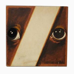 Sérigraphie Ritratto di Ignoto par Armando Testa, 1979