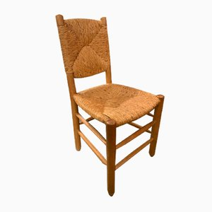 Esszimmerstühle von Charlotte Perriand, 1960er, 6er Set