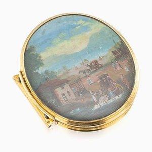 Niederländische 18 Karat Gold Schnupftabakdose, Amsterdam, 1739