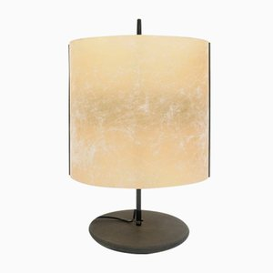Italian Parchment Model Paralume Table Lamp by R. Beretta A. Macchi Cassia for Stilnovo, 1970s