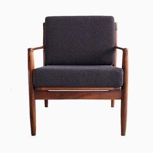 Easy Chairs par Ib Kofod Larsen, Danemark, 1960s, Set de 2