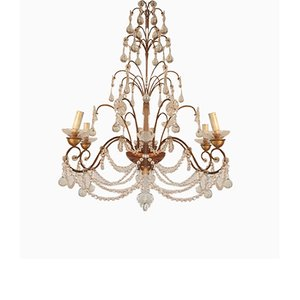 Chandelier with Beads, 1956