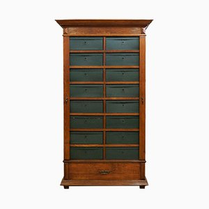 Antique French Office Cabinet with Removable Compartments