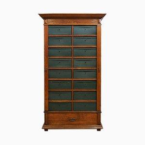 Armoire de Bureau Antique avec Compartiments Amovibles