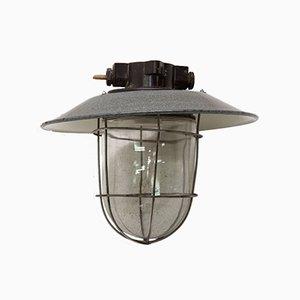 Vintage Industrial Pendant Lamp, 1960s