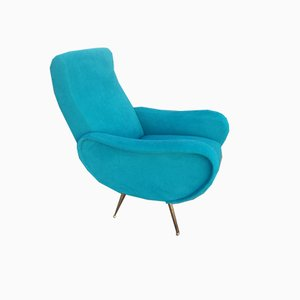 Mid-Century Lounge Chairs in the Style of Marco Zanuso, 1960s, Set of 2
