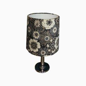 Vintage Floral Table Lamp, 1970s