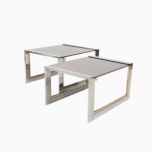 Nesting Tables by Willy Rizzo, 1974, Set of 2