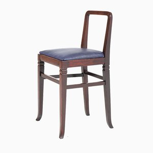 Art Deco Mahogany Shop Chairs from H.P. Mutters & Zoon, 1920s, Set of 2