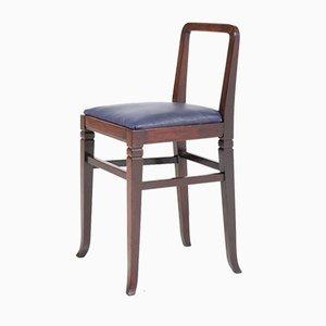 Chaises de Boutique Art Déco en Acajou de HP Mutters & Zoon, 1920s, Set de 2