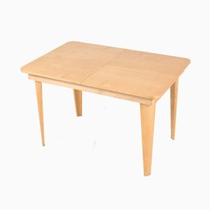 Mid-Century Birch Dining Table by Cor Alons for Gouda den Boer, 1950s