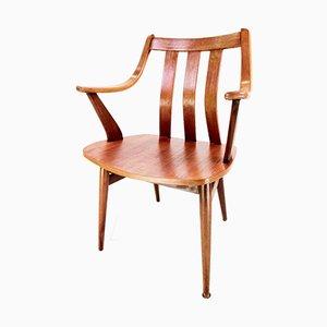 Chaise de Salon en Teck et Bois Courbé par Cees Braakman pour Pastoe, 1950s