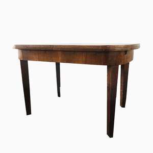Antique Biedermeier Extendable Dining Table from Ruscheweyh Tisch, 1800s