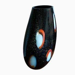 Schwarze Vase von Paolo Crepax