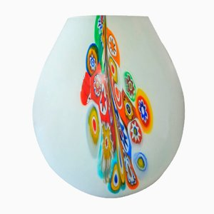 Multicolored Vase by Paolo Crepax