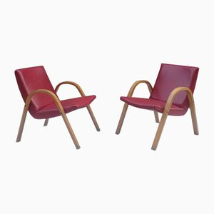 Vintage Lounge Chairs by Hugues Steiner for Steiner, 1960s, Set of 2