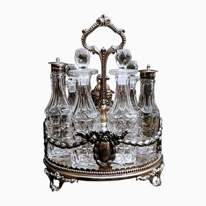 Victorian Silver Plated Cruet from Elkington & Co, 1850s
