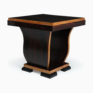 Art Deco Macassar Ebony Dressing Table, 1930s