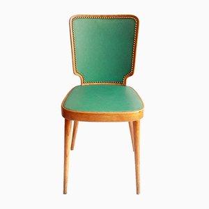 Mid-Century Italian Skai Model Faustino Desk Chair, 1950s