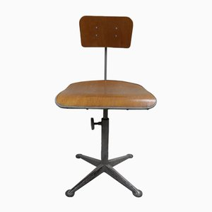 Vintage Industrial Desk Chair, 1960s