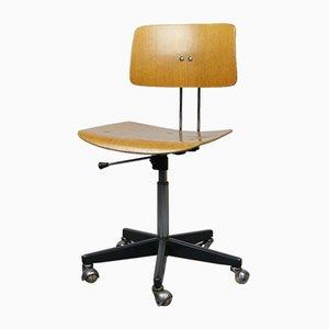 Verstellbarer Drehbarer Vintage Bürostuhl