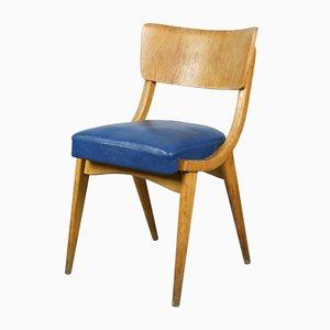 Blauer Vintage Schreibtischstuhl von Stol Kamnik