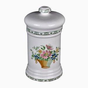 Florale Apothekerflasche von La Cartuja Pickaman, 1960er
