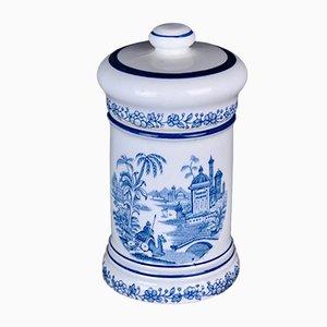 Blaue Apothekeflasche von La Cartuja Pickman, 1960er