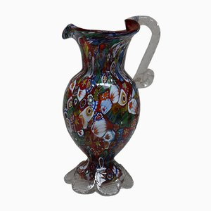 Murrina Millefiori Glass Carafe, 1960s
