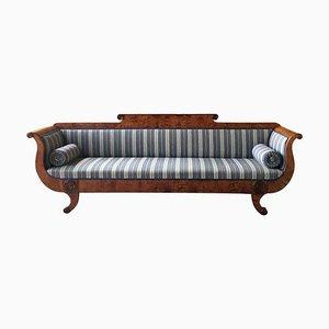 Schwedisches Biedermeier Sofa, 1850er