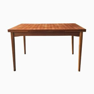 Swedish Teak Dining Table, 1960s