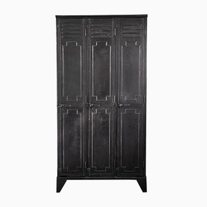 Vintage French Metal Locker from Gantois, 1920s