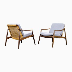 Model 400 Lounge Chairs by Hartmut Lohmeyer for Wilkhahn, 1950s, Set of 2