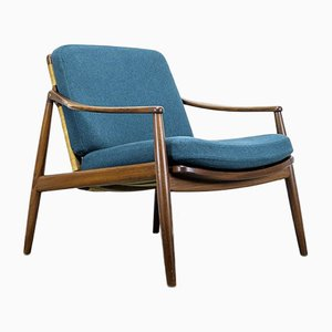 Model 400 Lounge Chair by Hartmut Lohmeyer for Wilkhahn, 1950s
