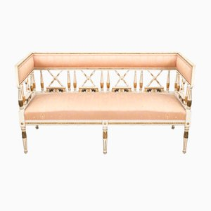 Antique Swedish Gustavian Bench