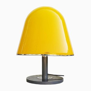 Large Mid-Century Yellow Model Kuala Table Lamp by Franco Bresciani for Guzzini, 1970s