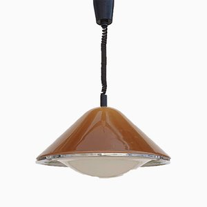 Mid-Century Italian Model Kuala Pendant Lamp by Franco Bresciani for Guzzini, 1970s
